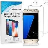 Weinstock-Science   2X bruchsicheres Panzerglas für Samsung Galaxy S7   Schutzfolie aus 9H Echt Glas