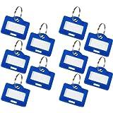 HMF 180005-10 x Schlüsselanhänger, blau
