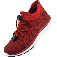 Knixmax Women's Lightweight Trainers Knit Walking Shoes Mesh Running Sneakers Gym Fitness Sports Shoe