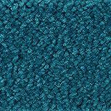 BODENMEISTER BM72182 Teppichboden Auslegware Meterware Hochflor Shaggy Langflor Velour türkis blau 400 cm und 500 cm breit, verschiedene Längen, Variante: 5,5 x 5 m