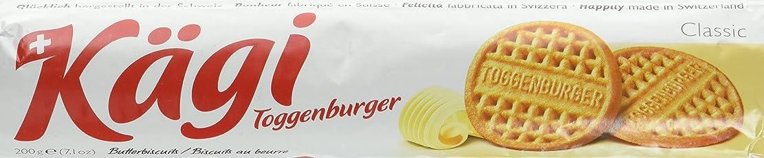 Kägi Toggenburger Butterbiscuits, 5er Pack (5 x 200 g)
