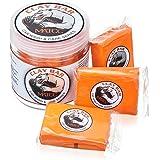 MATCC Barra de Arcilla Coche Car Clay Bar Magic 3 Paquetes de 100g de Limpiador Premium de Arcilla con Capacidad de Lavado y