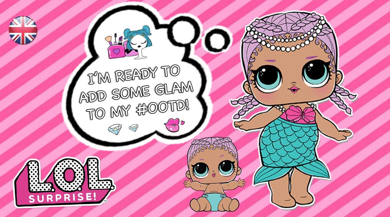 L.O.L Surprise Swag Maglietta per Bambina LOL Dolls con Le Bambole Rocker Diva Vestiti Estivi per Ragazza Misto Cotone BFF Fancy /& Fresh IT Baby e M.C
