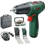 Bosch DIY Tools EasyDrill 1200 06039D3004 Skruvdragare med Borr Funktion 12 V, Svart, Grön