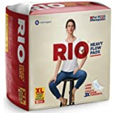 RIO Heavy Flow Longer, Wider and Thicker Sanitary Pads (XL) -6 Pad