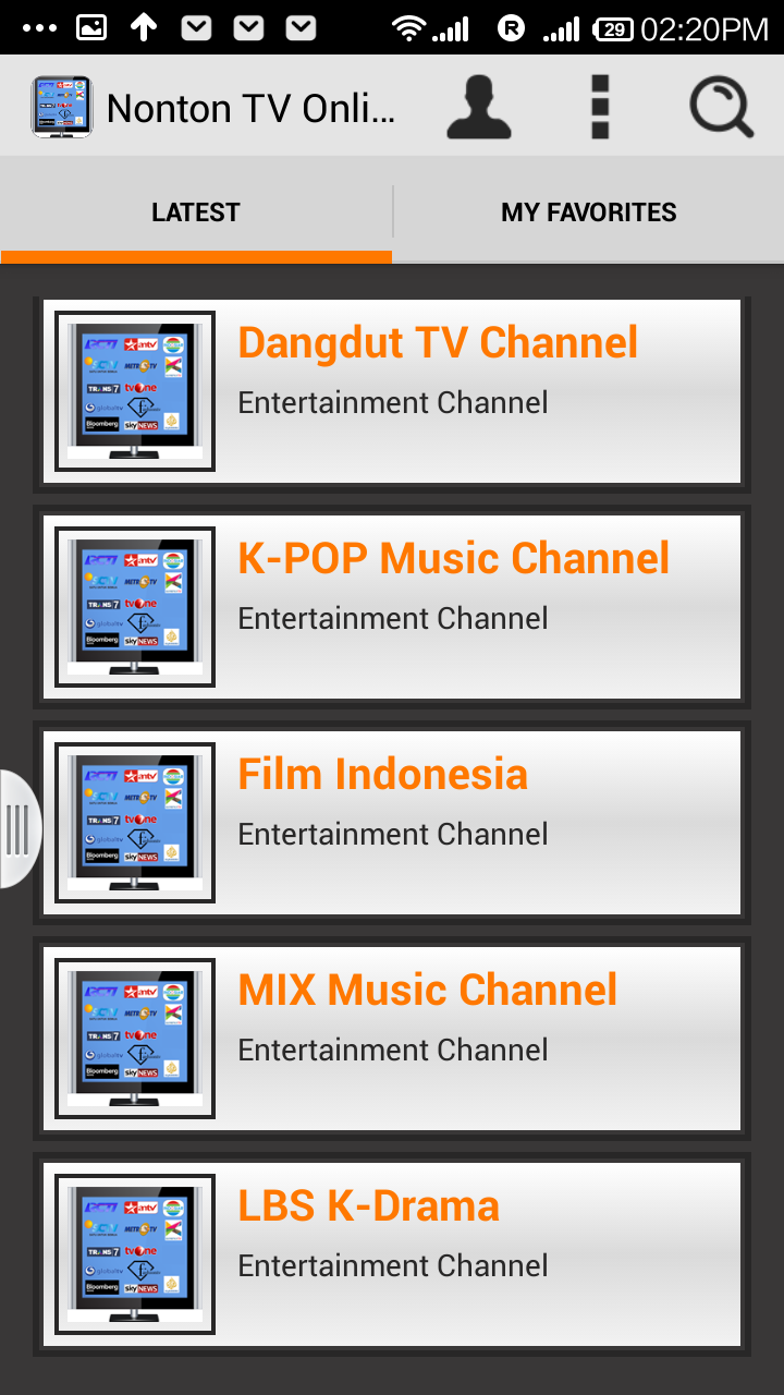 Nonton TV Online Indonesia: Amazon co uk: Appstore for Android