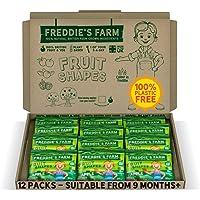 Freddie's Farm - Kids Snacks - Apple Fruit Shapes Fun Box - 12 x 20g Apple Packs