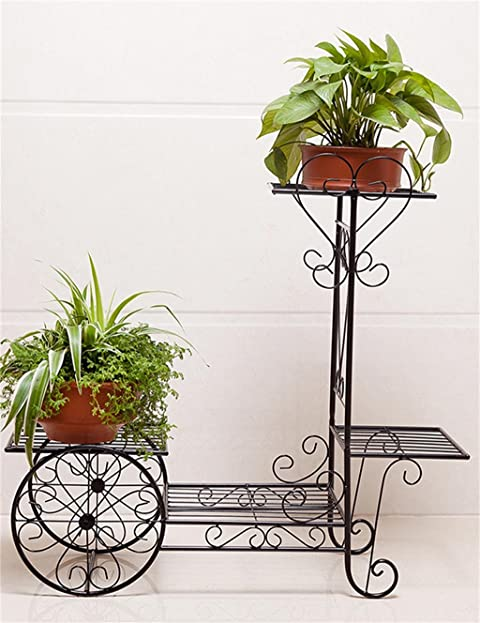 YANZHEN Continental Iron Fahrrad Modelle Boden Flower Pot Regal, Grün Dill  Hängende Orchidee Rack, Pflanzen Stehen Für Innen , Wohnzimmer, ...