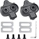 HAPPY FINDING Bike Cleats, Bike Bicycle Cleat Set Compatible with Pedals Shimano MTB SPD Indoor Cycling & Road Mountain Bikin