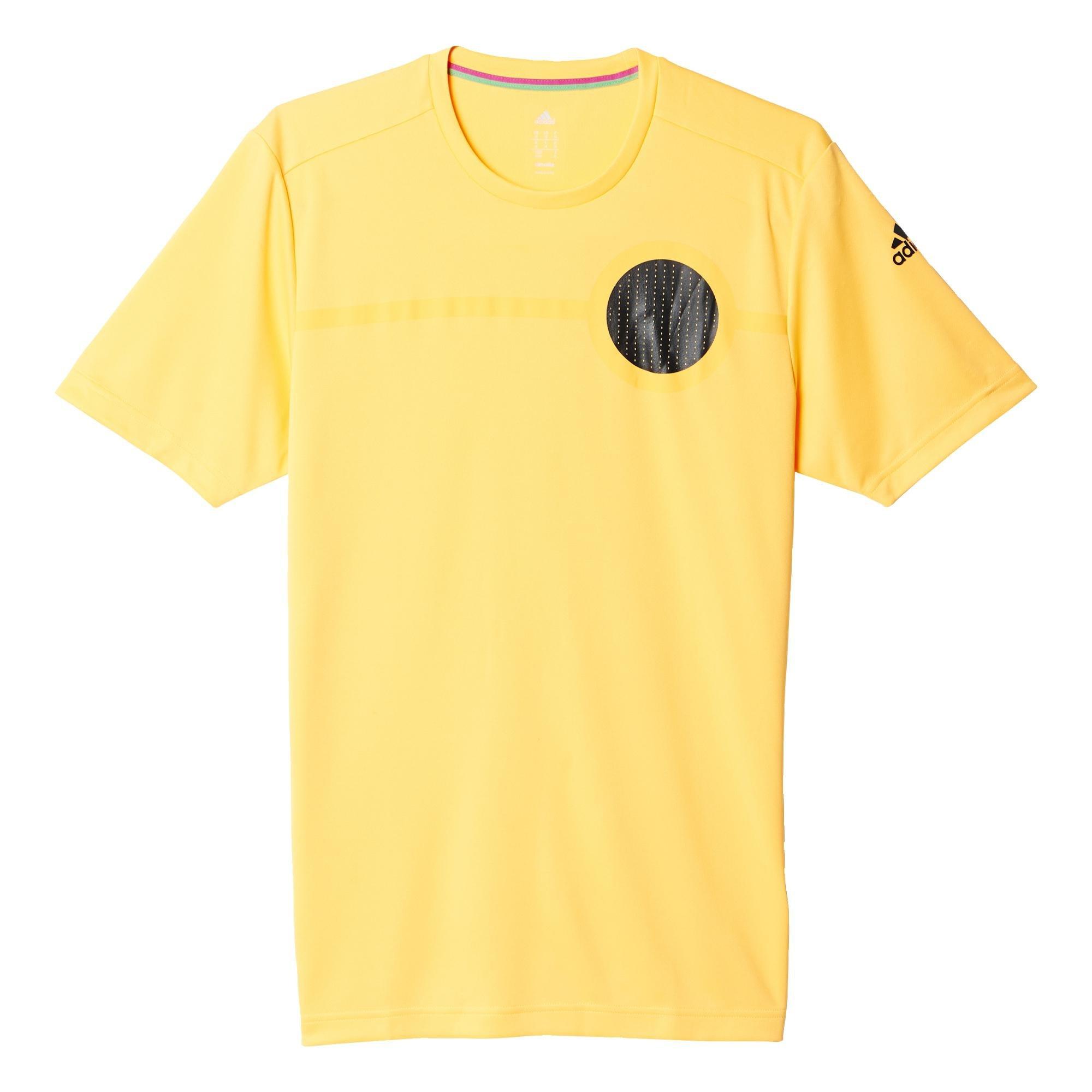 Adidas Ufb Clmlt Tee Maglia per Uomo, Oro (Dorsol), S