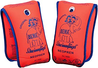 Bema 18004 - Happy People, Neopren Schwimmflügel, 11-30 kg, orange