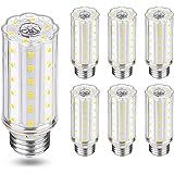 Ampoule Led E27 Blanc Froid 6000K, Équivalent Ampoule Halogène 100w,1000lm,360 Angle,Non Dimmable,Lot de 6