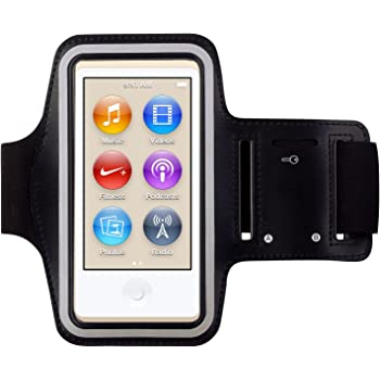 KING OF FLASH New iPod Nano 7th Generation / 8th Generation Premium Water Resistant Armband Case Cover for use While Jogging, Gym, Running, Bike riding & other Sports Activities