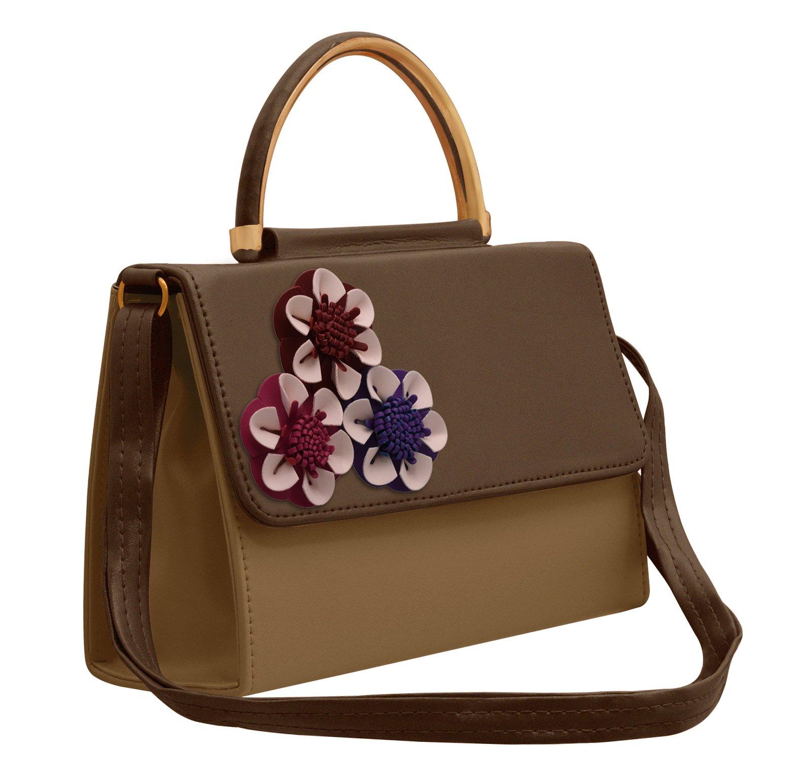 TAP FASHION Fancy Stylish PU Leather Women s Handbag 8566ecdeed217