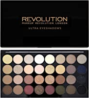 Makeup Revolution Shimmers And Matte Nudes Ultra 32 Eyeshadows Flawless Palette
