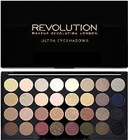 Makeup Revolution - Palette di 32 ombretti Ultra - Flawless, 16g