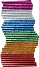 MHK Crown HOT MELT Multi Purpose Glitter Glue Sticks (40 Pieces)