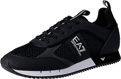 Armani EA7 Sneaker Uomo Black White 7