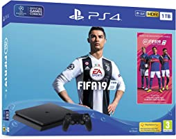 Sony PlayStation 4 Slim 1TB Console with FIFA 2019