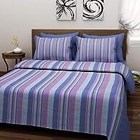Raisa Panipat Weave Handloom 120 TC Cotton Double Bed Cover - Multi, ALT_031
