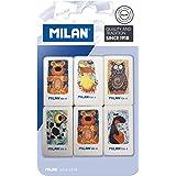 Milan BMM9202 - Pack de 6 gomas de borrar