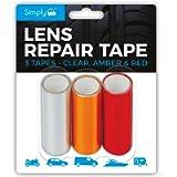 Simply 2250 Lens Repair Tape, Red/Clear/Amber