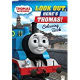Thomas & Friends Look Out, Here's Thomas Colouring Book