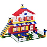 Evan Super Architect Block for Kids for Kids Child Starts Making His/Her Own Model - 345 Interlocking Pieces