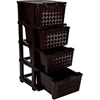 JOYFUL Cargo 4 Multipurpose Storage System Brown