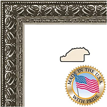 12x36 / 12 x 36 Picture Frame Antique Silver .. 1.375\'\' wide: Amazon ...
