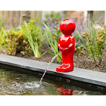 Springbrunnen Ubbink AcquaArte Boy III rot 67cm Wasserspiel