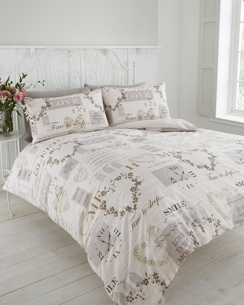 vintage heart traditional home duvet cover bed sets (double  - vintage heart traditional home duvet cover bed sets (double) amazoncoukkitchen  home