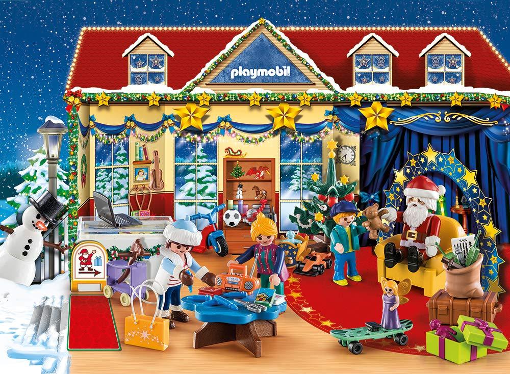 Playmobil Calendario dell'Avvento 70188 - Il Negozio dei Giocattoli di Natale 2 spesavip