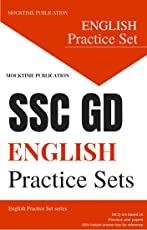 SSC GD CONSTABLE English Model Practice Papers : Mocktime Publication