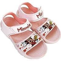 Sandali Minnie Mouse per Bambine - Sandali Disney Minnie Mouse con Velcro per Spiaggia o Piscina