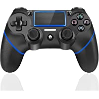 TUTUO Joystick Controller per PS4, Wireless Controller, di Gioco Wireless Doppio Shock a Sei-Assi Joystick con TouchPad…