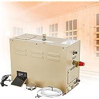 Hanchen 3KW Générateur de Vapeur pour Sauna Douche Turque 2 m³ Température réglable 35-55 °C Minuteur 30min-12h 220V