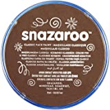 Snazaroo SZ1118988 Classic Light Brown Face and Body Paint, 18 ml