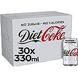 Diet Coke Cans, 30 x 330 ml