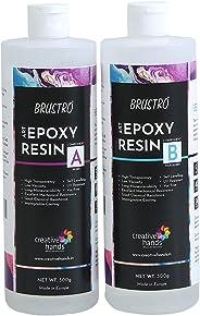 Brustro Art Epoxy Resin and Hardener Kit 800 GMS