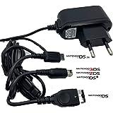 Chargeur compatible avec Nintendo 3DSxl 3DS DSi DSiXL xl 2DS DS DS DS DS Game Boy Advance SP New Chargeur secteur 3 en 1