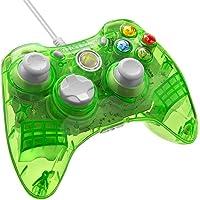 Manette filaire rock candy pour xbox 360 - modèle vert
