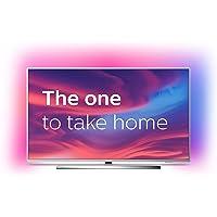 Philips Ambilight 50PUS7354/12 Fernseher 126 cm (50 Zoll) Smart TV (4K UHD, P5 Engine, Dolby Vision, Dolby Atmos, Android TV, Google Assistant, Alexa kompatibel) Hellsilber (2020/2021 Modell)
