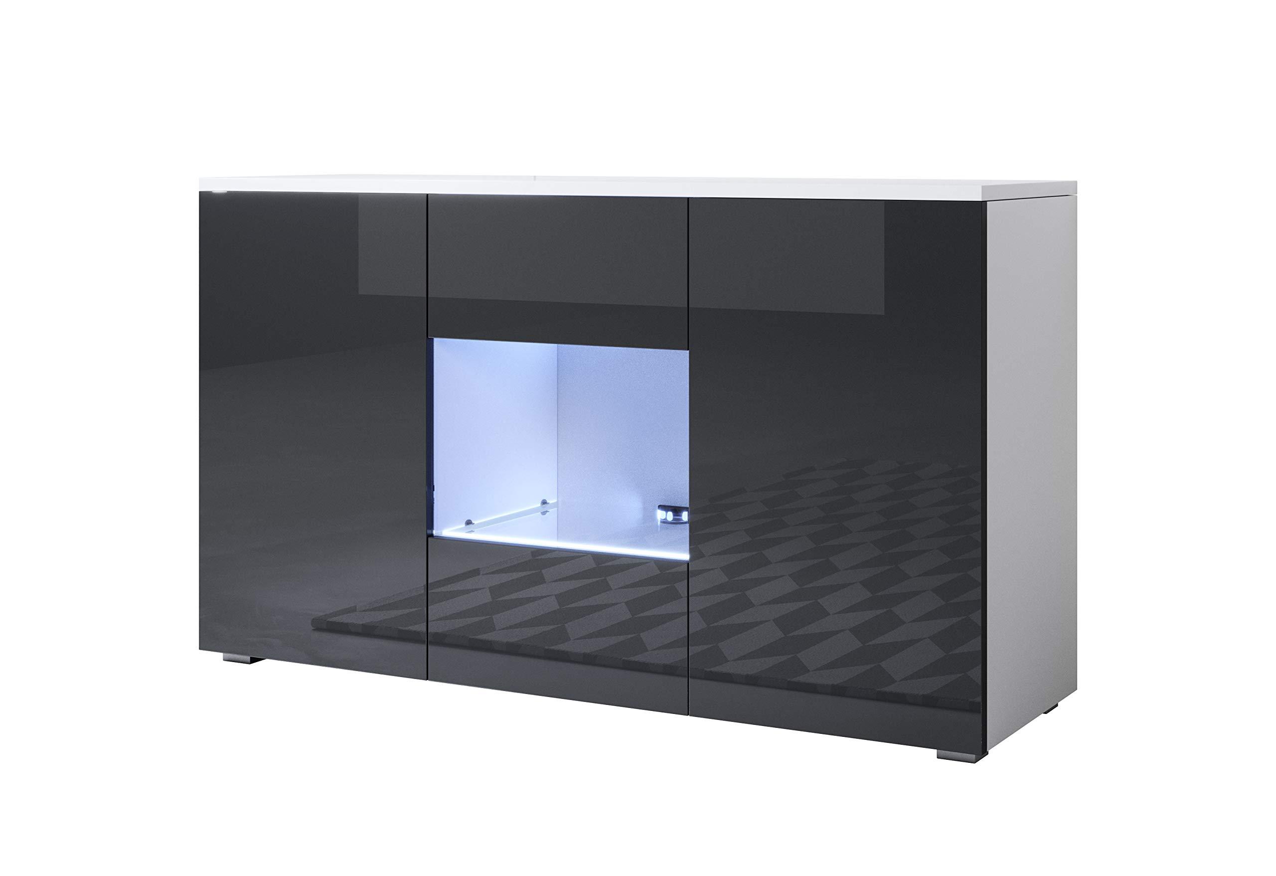 Credenza Con Piedini : Muebles bonitos letti e mobili credenza modello luke a con led