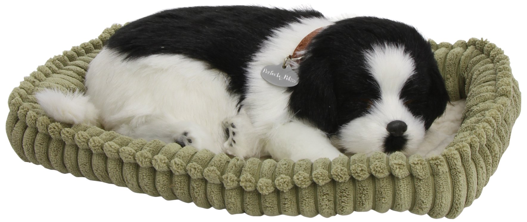Border Collie – Pet Mate / Nap Breathing Life Like Sleeping Dog in Bed Sleeping Pet