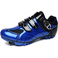 Mens MTB Cycling Shoes SPD Mountain Bike Shoes Road Bike Shoes Breathable Outdoor Cycle Shoes Compatible with SPD Cleats