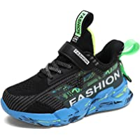 SMajong Girls Boys Trainers Kids Sneakers Lightweight Sports Shoes Casual Running Shoes Breathable Walking Tennis Shoes…