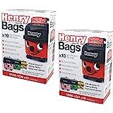 Brand New Numatic Henry Hepa-Flo Vacuum Cleaner Dust Bags 20 pack