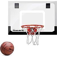 SKLZ HP01-000-02 - Canestro da basket Pro Mini Hoop XL, bianco/arancione
