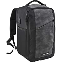 Cabin Max Manhattan RPET 40x20x25 Underseat Ryanair Cabin Bags | Underseat Stowaway Hand Luggage | Laptop Carry On Bag…